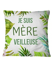 Mère Veilleuse Square Pillowcase thumbnail