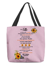PERFECT GIFT - Print two-sided PARFAIT CADEAU All-over Tote front
