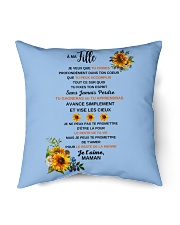 "PERFECT GIFT - Print two-sided PARFAIT CADEAU Indoor Pillow - 16"" x 16"" thumbnail"