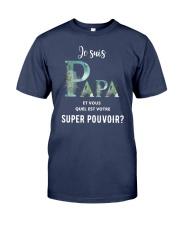 PAPA SUPER POUVOIR  Premium Fit Mens Tee tile
