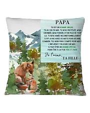 PAPA homme unique PERFECT GIFT  Square Pillowcase thumbnail