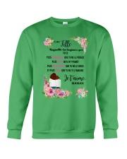 À Ma Fille Perfect Gift - Cadeau Parfait Crewneck Sweatshirt thumbnail