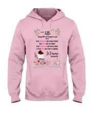 À Ma Fille Perfect Gift - Cadeau Parfait Hooded Sweatshirt thumbnail