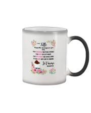 À Ma Fille Perfect Gift - Cadeau Parfait Color Changing Mug thumbnail