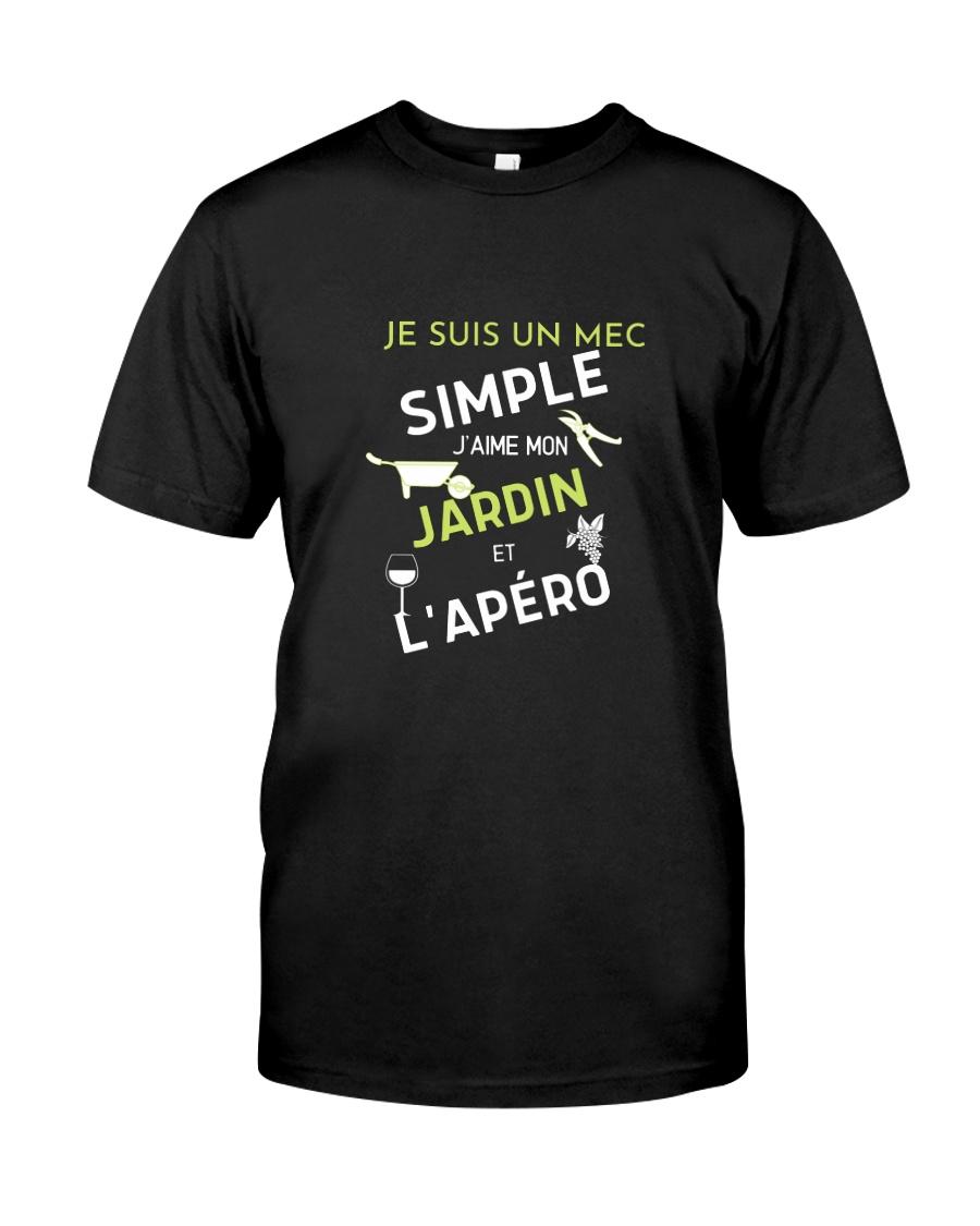 J'AIME MON JARDIN et L'APÉRO Classic T-Shirt