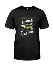 J'AIME MON JARDIN et L'APÉRO Classic T-Shirt front