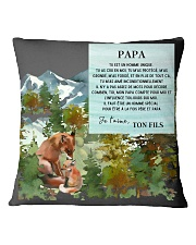CADEAU PAPA FILS - PERFECT GIFT  Square Pillowcase thumbnail