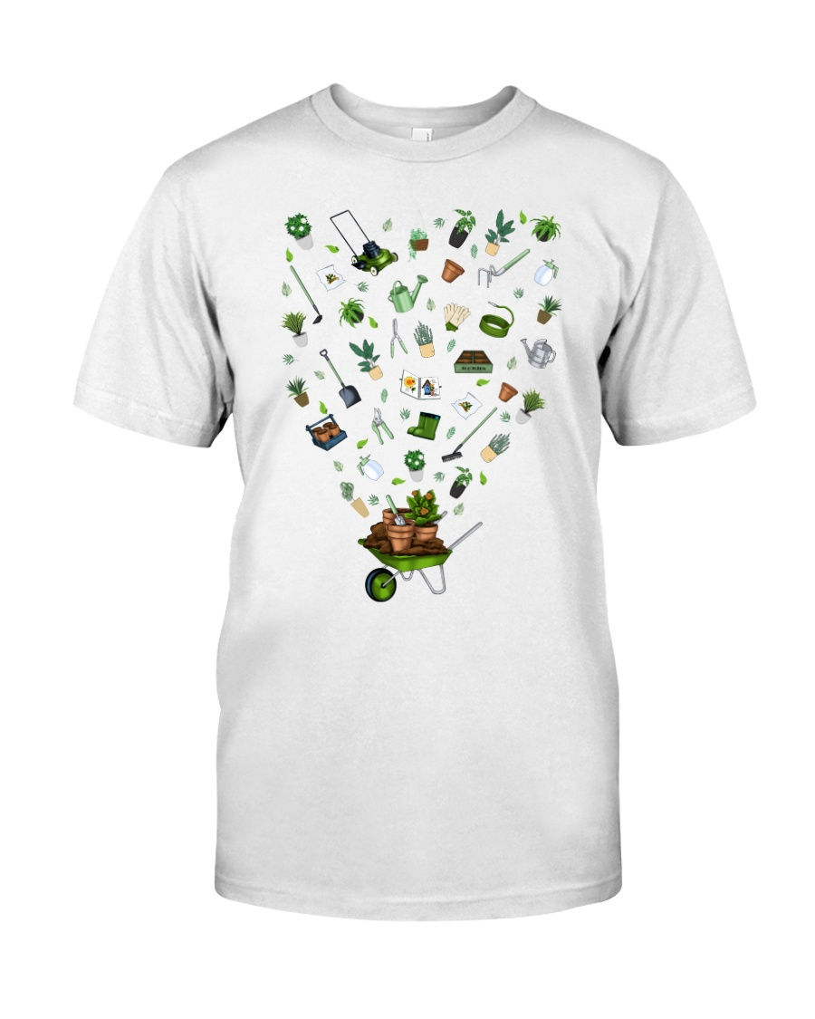 GARDEN PAPA PAPI - PRINT TWO SIDED - PERFECT GIFT  Premium Fit Mens Tee