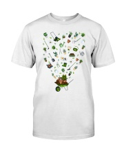 GARDEN PAPA PAPI - PRINT TWO SIDED - PERFECT GIFT  Premium Fit Mens Tee front