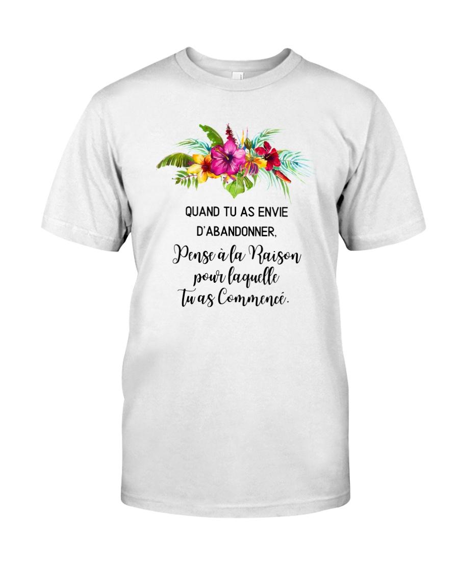 MOTIVATION CADEAU Classic T-Shirt