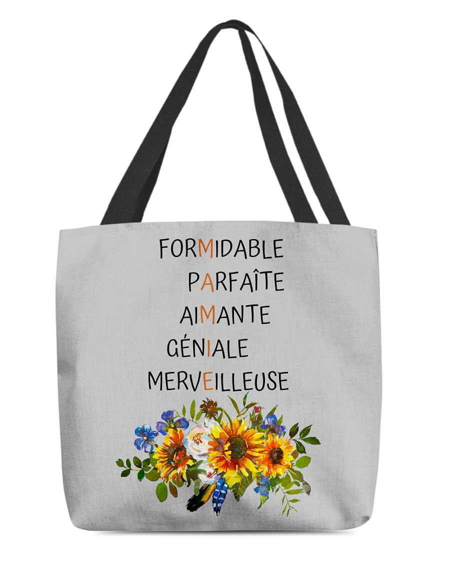GRANDMOTHER PERFECT GIFT - PARFAIT CADEAU MAMIE All-over Tote