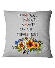 GRANDMOTHER PERFECT GIFT - PARFAIT CADEAU MAMIE Square Pillowcase thumbnail