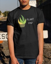 PLANT DAD - PERFECT GIFT Classic T-Shirt apparel-classic-tshirt-lifestyle-29