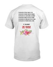UNE SEULE MAMAN  Classic T-Shirt back