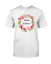 UNE SEULE MAMAN  Classic T-Shirt front