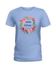 UNE SEULE MAMAN  Ladies T-Shirt thumbnail