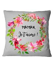 UNE SEULE MAMAN  Square Pillowcase thumbnail