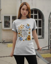 TOURNESOL - PRINT TWO SIDED - PERFECT GIFT  Classic T-Shirt apparel-classic-tshirt-lifestyle-19