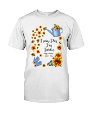 TOURNESOL - PRINT TWO SIDED - PERFECT GIFT  Classic T-Shirt front