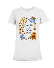 TOURNESOL - PRINT TWO SIDED - PERFECT GIFT  Premium Fit Ladies Tee thumbnail