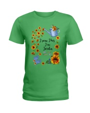 TOURNESOL - PRINT TWO SIDED - PERFECT GIFT  Ladies T-Shirt thumbnail