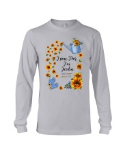 TOURNESOL - PRINT TWO SIDED - PERFECT GIFT  Long Sleeve Tee thumbnail