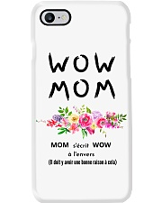 WOW MOM - PERFECT GIFT MAMAN Phone Case thumbnail