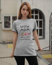 WOW MOM - PERFECT GIFT MAMAN Classic T-Shirt apparel-classic-tshirt-lifestyle-19