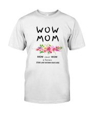 WOW MOM - PERFECT GIFT MAMAN Classic T-Shirt tile