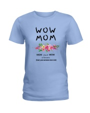 WOW MOM - PERFECT GIFT MAMAN Ladies T-Shirt tile