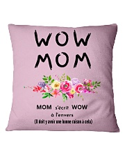WOW MOM - PERFECT GIFT MAMAN Square Pillowcase tile