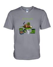 PAPA PLANTE - PLANT DAD  V-Neck T-Shirt thumbnail