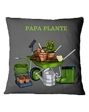 PAPA PLANTE - PLANT DAD  Square Pillowcase thumbnail