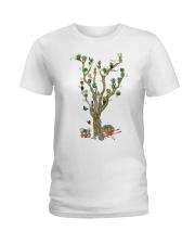 Tree Garden PERFECT GIFT  Ladies T-Shirt thumbnail
