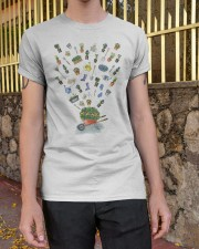 HAPPY GARDEN - PRINT TWO SIDED PERFECT GIFT  Classic T-Shirt apparel-classic-tshirt-lifestyle-21