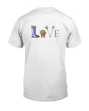 HAPPY GARDEN - PRINT TWO SIDED PERFECT GIFT  Classic T-Shirt back