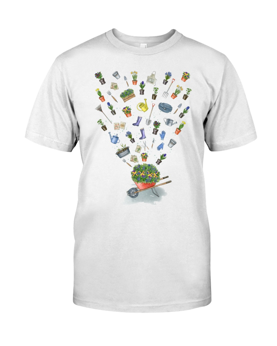 HAPPY GARDEN - PRINT TWO SIDED PERFECT GIFT  Classic T-Shirt