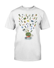 HAPPY GARDEN - PRINT TWO SIDED PERFECT GIFT  Classic T-Shirt front