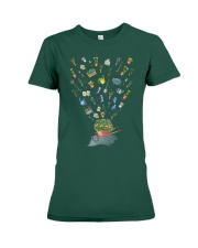 HAPPY GARDEN - PRINT TWO SIDED PERFECT GIFT  Premium Fit Ladies Tee thumbnail