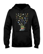 HAPPY GARDEN - PRINT TWO SIDED PERFECT GIFT  Hooded Sweatshirt thumbnail