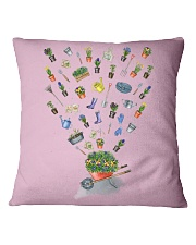 HAPPY GARDEN - PRINT TWO SIDED PERFECT GIFT  Square Pillowcase thumbnail