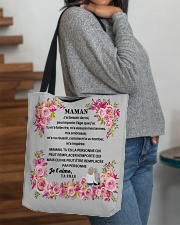 J'ai besoin de toi Maman PERFECT GIFT CADEAU MAMAN All-over Tote aos-all-over-tote-lifestyle-front-09