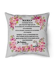 "J'ai besoin de toi Maman PERFECT GIFT CADEAU MAMAN Indoor Pillow - 16"" x 16"" thumbnail"