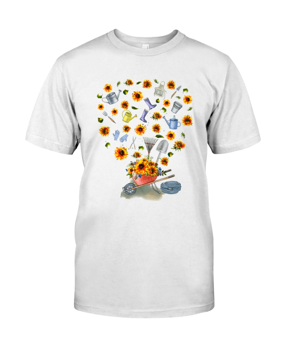 PERFECT GIFT Print two-sided TOURNESOL Classic T-Shirt
