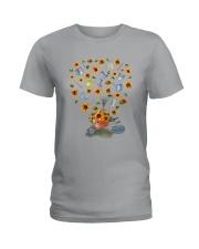 PERFECT GIFT Print two-sided TOURNESOL Ladies T-Shirt thumbnail