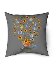 """PERFECT GIFT Print two-sided TOURNESOL Indoor Pillow - 16"""" x 16"""" thumbnail"""