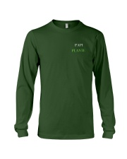 PAPI PLANT - PRINT TWO SIDED - PERFECT GIFT  Long Sleeve Tee thumbnail