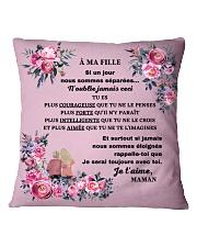 Je serai toujours avec toi Square Pillowcase front