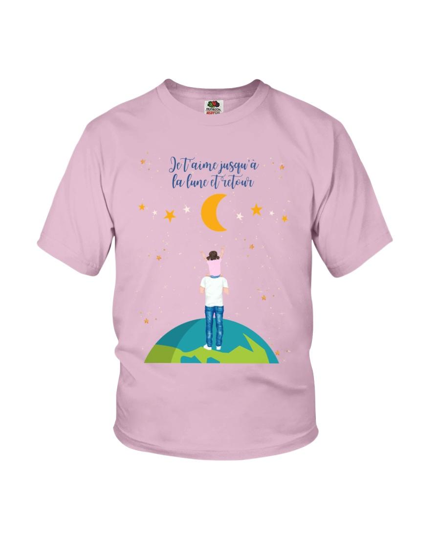 JUSQU'À LA LUNE - CADEAU FILLE Youth T-Shirt