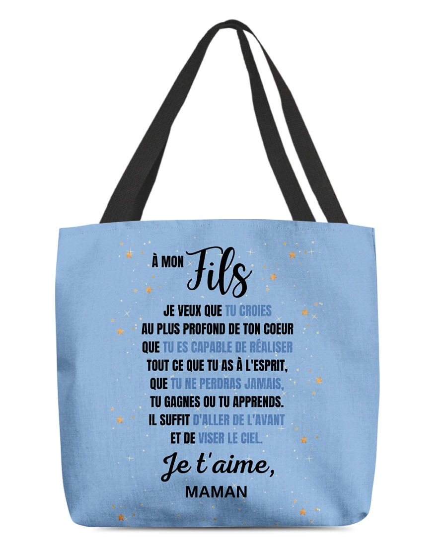 À Mon Fils - Perfect Gift All-over Tote